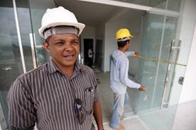 Pará em Obras - Centro de Triagem Masculino de Marabá.  Na foto: Domingos Vieira dos Santos, encarregado da obra.  FOTO: SIDNEY OLIVEIRA/AG. PARÁ DATA: 11.01.2014 MARABÁ - PARÁ