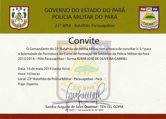 Convite PM