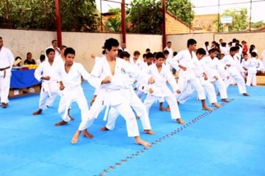 Aula de karate