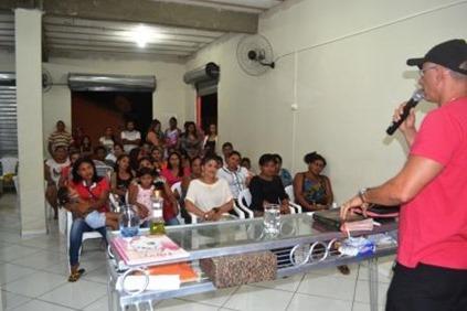 Reunião aconteceu no bairro Liberdade