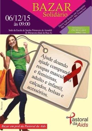 Bazar Solidário da Pastoral da Aids