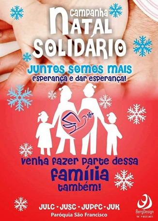 Cartaz_Natal Solidário