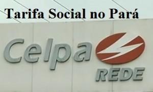 Tarifa social no PA