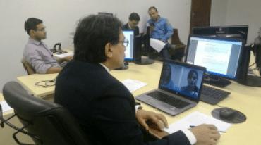 Skype é usado para audiência entre comarcas na 2 VT de Marabá