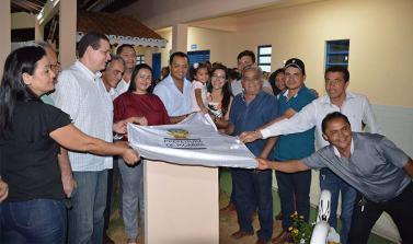 Em Piçarra Escola Monteiro Lobato é inaugurada na Vila Oziel Pereira