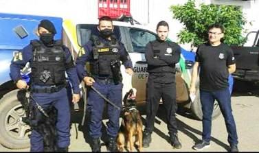 GAC dá apoio em operação contra o tráfico de drogas em Curionópolis