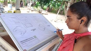 Conceição: Alunos do IFPA recebem prancheta portátil para desenho técnico