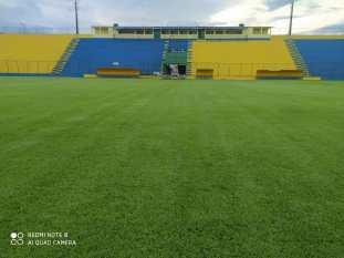 Estádio Rosenão passa por reformas e Liga Esportiva deve iniciar o calendário no mês de junho