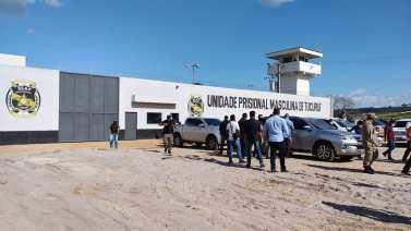 Tucuruí: Helder inaugura casa penal e entrega cestas básicas à quilombolas e povos indígenas