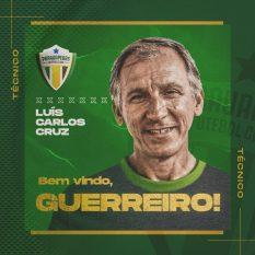 Parauapebas Futebol Clube anunciou Luiz Carlos Cruz como novo técnico para Segundinha do Parazão