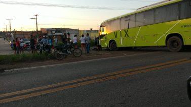Marabá: Soldado do Exército morre na colisão entre moto que pilotava e ônibus