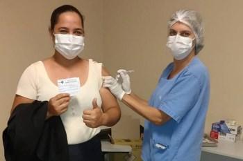 Paragominas: Hospital Regional e Secretaria de Saúde vacinam colaboradores contra H1N1
