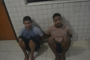 Polícia Militar interrompe assalto a lanchonete e prende dois assaltantes
