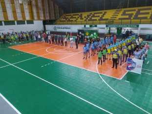 Parauapebas e Canaã dos Carajás sediaram a primeira rodada da Copa Carajás de Futsal