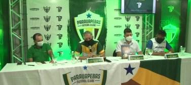 Luís Carlos Cruz é apresentado como técnico do Parauapebas para a disputa da Segundinha do Parazão