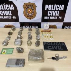 """Dom Eliseu: PC prende """"casal do tráfico"""" em sequência a Operação """"Narco Brasil"""""""