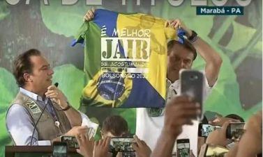 MP Eleitoral pede ao TSE multa para Bolsonaro por propaganda antecipada