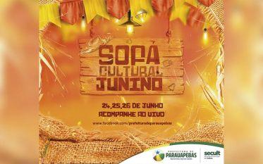 Parauapebas: Secult abre programação do Sofá Cultural Junino nesta quinta-feira (24)