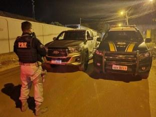 Eldorado do Carajás: PRF prende homem acusado de receptação e adulteração de veículo