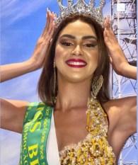 Candidata de Parauapebas é eleita Miss Brasil Globo 2021