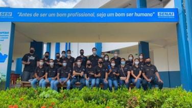 Fabricante Komatsu promove qualificação de 39 jovens de Parauapebas