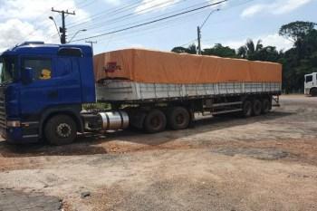 Marabá: Sefa apreende carreta com carregamento ilegal de manganês