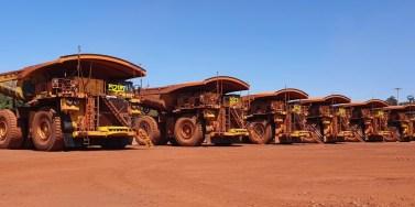Komatsu coloca em operação os primeiros caminhões autônomos da marca no Brasil