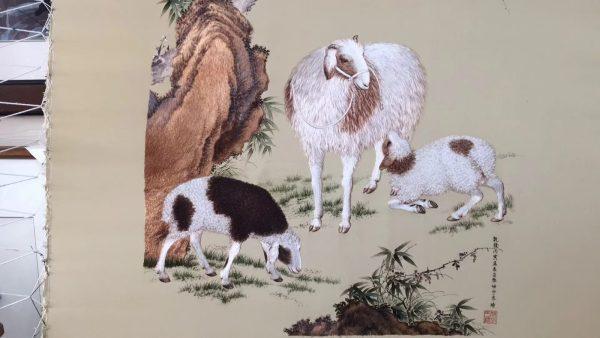 Three rams bring bliss