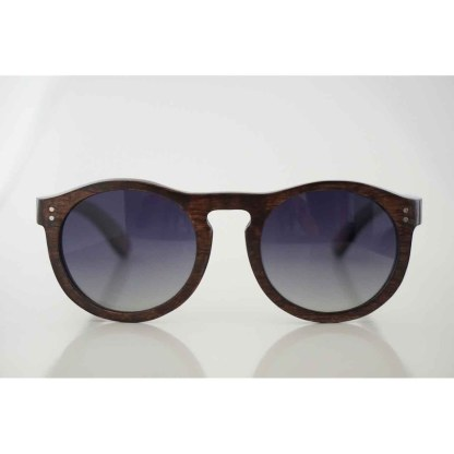 The-Javan-Rhino- sunglasses- is -handmade-with- -a-dark-beech-wood-frame. clsoe up
