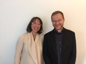 Barbara Brunnhuber, CEO, und Prof. Dr. Francois Paquet-Durand, CSO der Mireca Medicines GmbH. (Bildquelle: Manuel Rüschke)