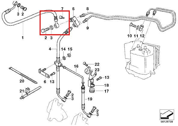 Stahlflex bremsleitungen bmw 1150 gs