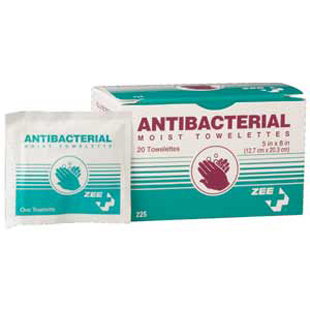 antibacterial disinfectant towelettes wipes