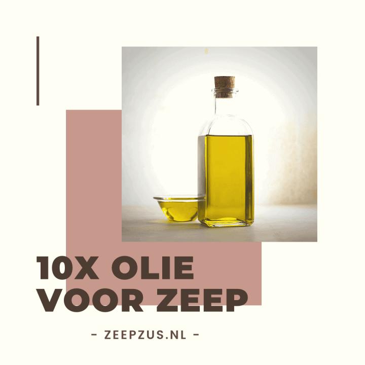 10x olie voor zeep