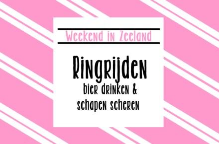 Weekendje Zeeland Ringrijden Abdij Bier Festival Schaapscheerfeest