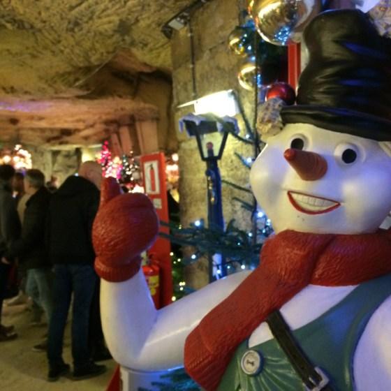 Kerststad Valkenburg Ondergrondse kerstmarkten in grotten