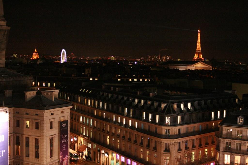 Parijs uitzicht galaries lafayette