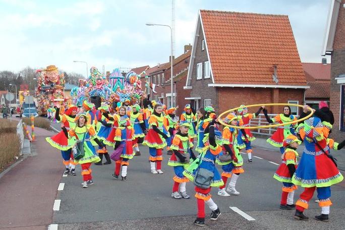 optocht carnaval kleppies