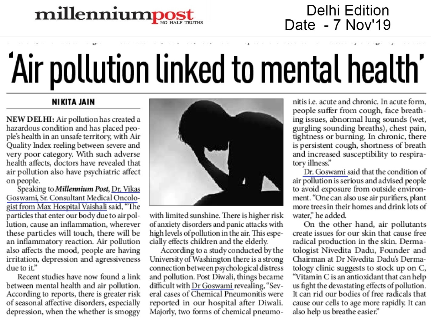 Air Pollution Linked to Mental Health | Millennium Post