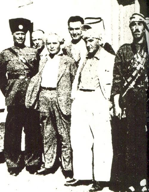 בן גוריון בפגישות עם מנהיגים ערביים
