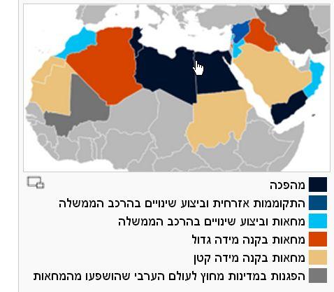 מפת האביב הערבי - ויקישיתוף