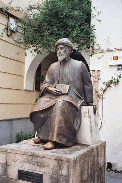 פסל הרמבם בקורדובה שבספרד  יוצר Annesov ויקישיתוף