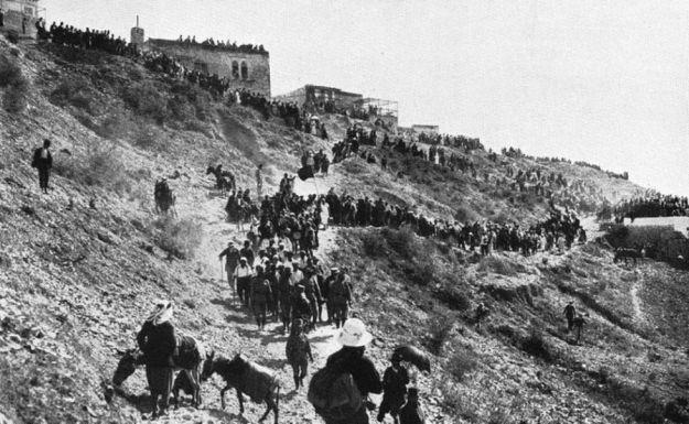 עולי רגל למירון 1920