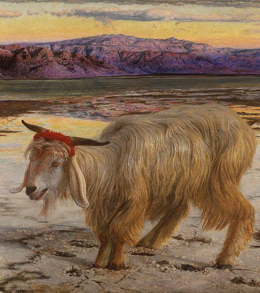 השעיר לעזאזל ששולח ביום הכיפורים, ציור מאת ויליאם הולמן האנט.