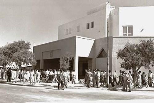 משכן הכנסת הזמני בתל אביב