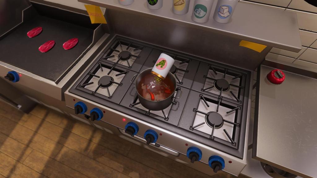 Medium Rare, пожалуйста - симулятор готовки Cooking Simulator анонсирован для Nintendo Switch 2