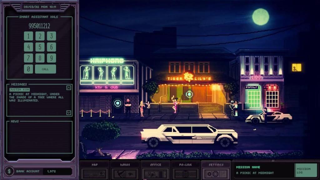 Кибернуар окутанный тайной - анонс Chinatown Detective Agency для Nintendo Switch 4