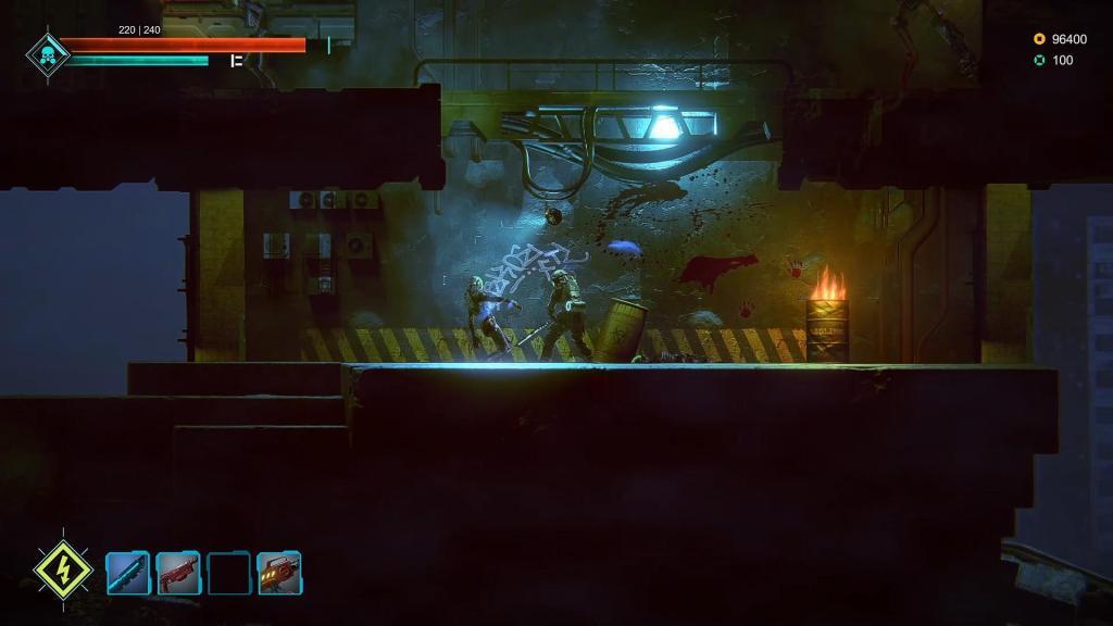 «Держись на свету» - sci-fi экшен-платформер Dark Light анонсирован для Nintendo Switch 1