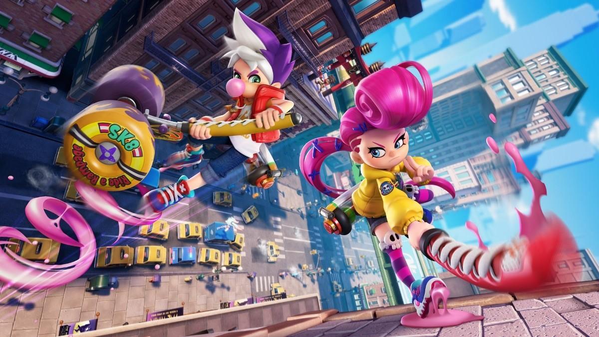 Условно-бесплатная игра про ниндзя Ninjala выйдет на Switch 9