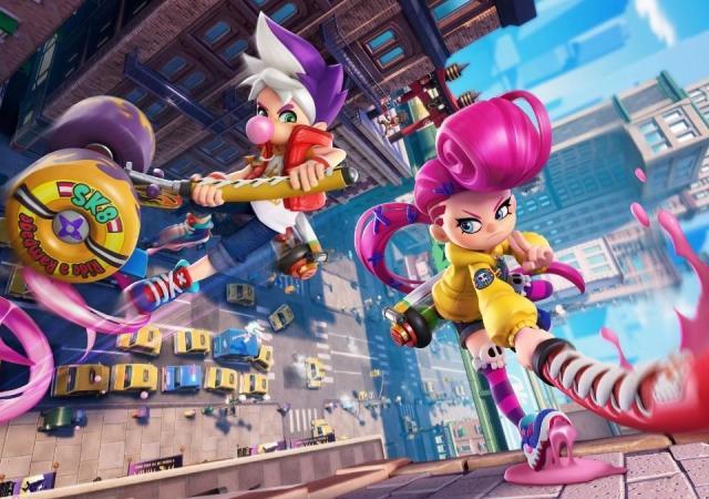 Условно-бесплатная игра про ниндзя Ninjala выйдет на Switch 32