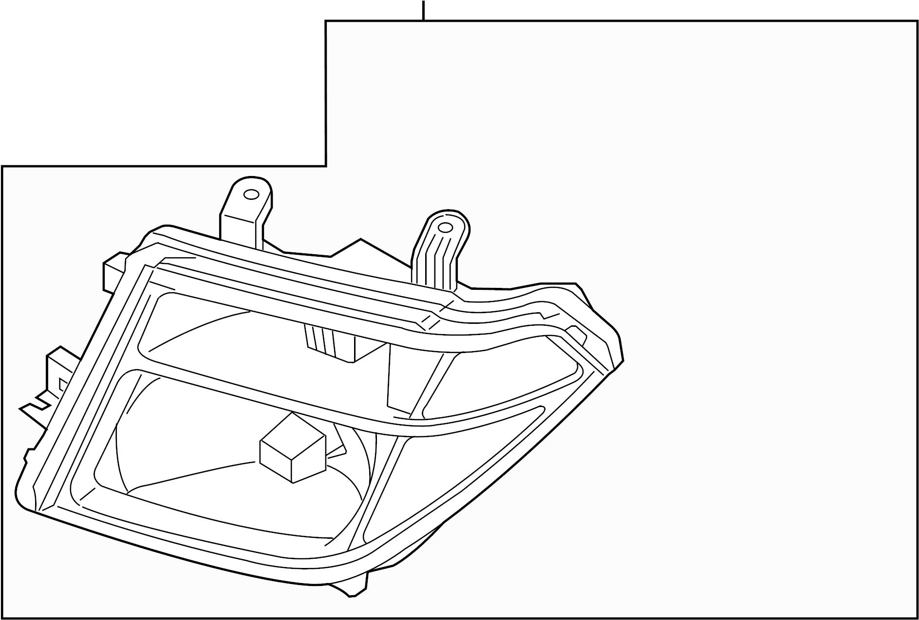 Nissan Pathfinder Headlight Right System Headlamp